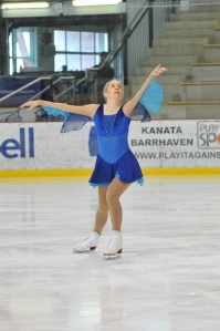 Me competing at the 2010 Skate Canada Adult Figure Skating Championships in Ottawa.