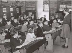 This classroom might have been completely different 10 years later. (credit: National Library of Australia via Flickr/Creative Commons)