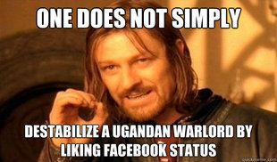 There's way more going on with this image than just a smart-ass caption. (credit: http://www.quickmeme.com/boromir)