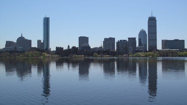 Downtown Boston, from across the Charles River.