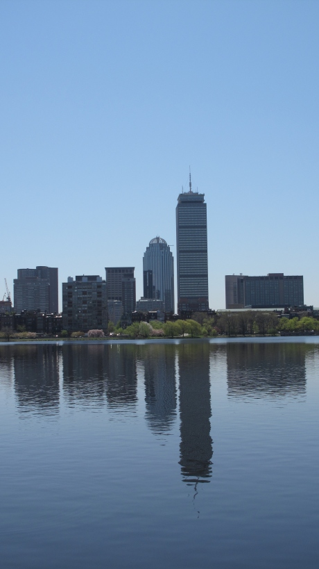 Another shot of downtown Boston and the Charles River.