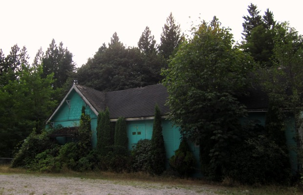 Sampo Hall, at Webster's Corners in Maple Ridge, BC. It was built in 1915 as a community hall for the Finnish settlers in the area, and a Workers' Sports Association of Canada club was headquartered here as well. (credit: own photo)
