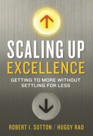 The cover of Scaling Up Excellence. (credit: randomhouse.com)