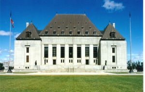 The Supreme Court of Canada building in Ottawa. (credit: Wikipedia)