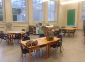A classroom in a BC school before....