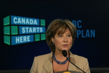 Christy Clark. (credit: Flickr)