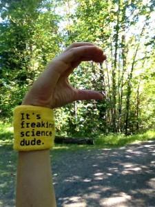 """Lauren Fleshman's """"C for courage"""" hand sign. (credit: asklaurenfleshman.com)"""